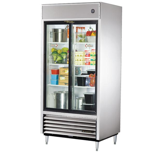 TSD-33G-LD True 33 Cu. Ft. Sliding Glass Door SS Refrigerator