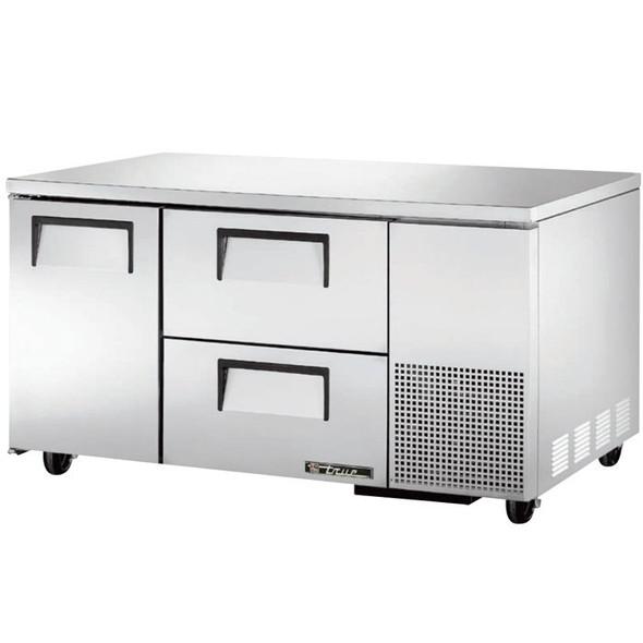 "TUC-60-32D-2 True 60"" 2 Drawer Undercounter Refrigerator"
