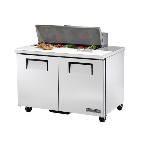"TSSU-48-10-HC True 48"" 10 Bin Sandwich/Salad Prep Table"