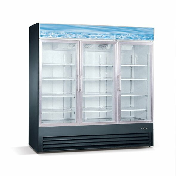 Westwind WGR72 69 Cu. Ft. Glass Door Merchandiser