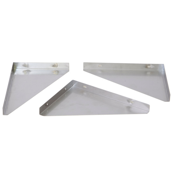 Atlantic Metalworks Stainless Steel Wall Shelf Brackets