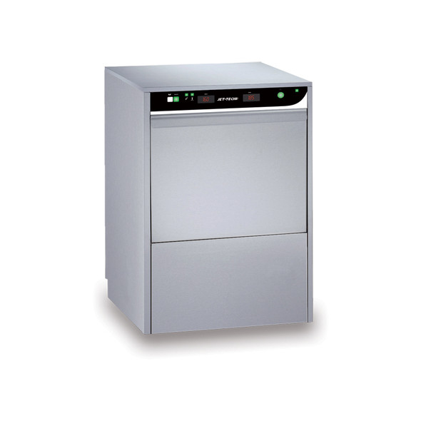 Jet-Tech F-18DP High-Temp Undercounter Dishwasher Front View