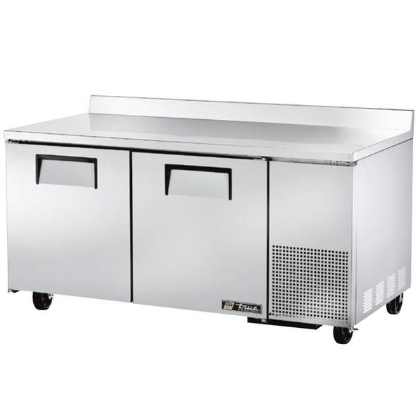 """TWT-67F True 67"""" 2 Door Deep Worktop Freezer"""