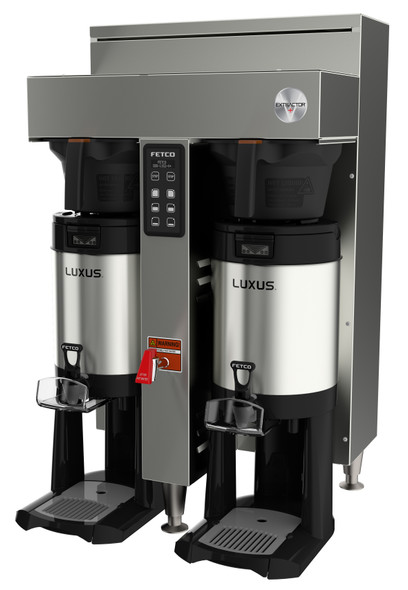 Fetco Dual Station 1.5 Gallon Extractor CBS-1152-V+ Series Coffee Brewer