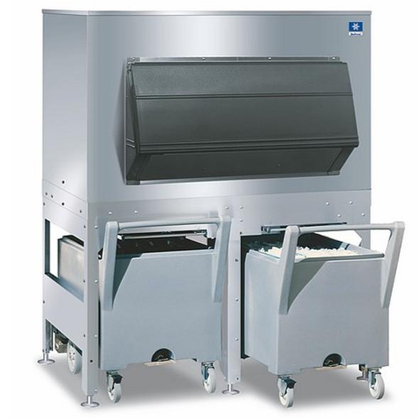 Manitowoc FC-1350 - 1350 lbs Large Capacity Ice Storage Bin & Cart System