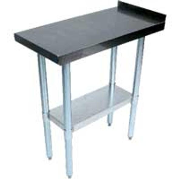 Atlantic Metalworks STT-3015-2BS - 30x15 Stainless Table w/Backsplash