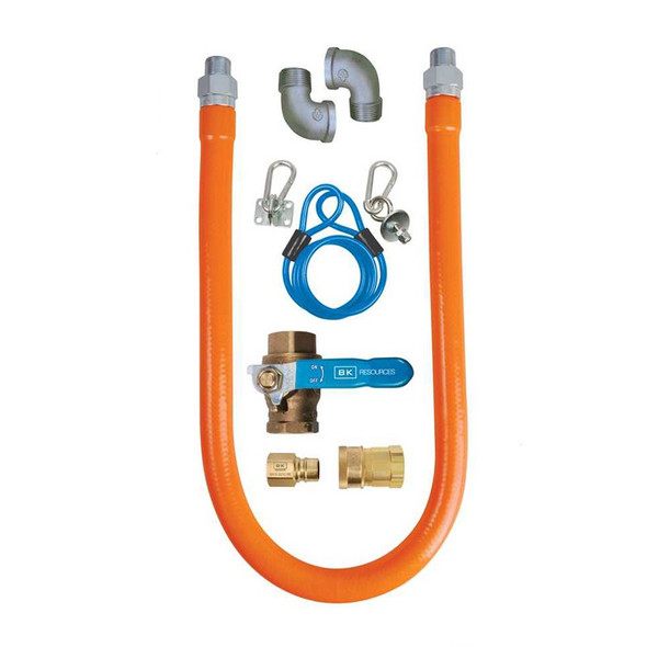 BK Resources BKG-GHC-7548-SCK3 Gas Hose Connection Kit