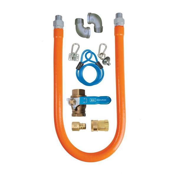 BK Resources BKG-GHC-7548-SCK3 Gas Hose Connection Kit