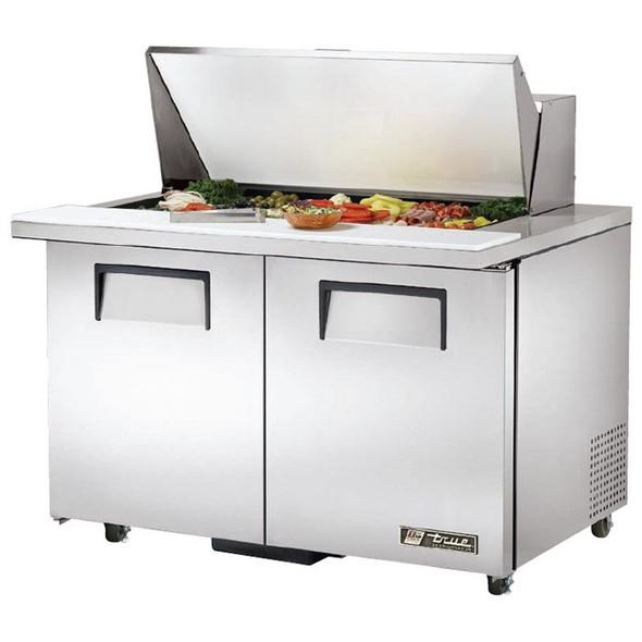"""TSSU-48-18M-B-ADA True 48"""" 18 Bin Sandwich/Salad Prep Table"""