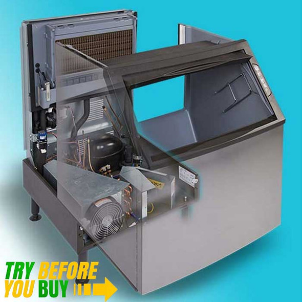 Manitowoc NEO UDF-0140A-161B - 130 lbs Dice Cube Air-Cooled Undercounter