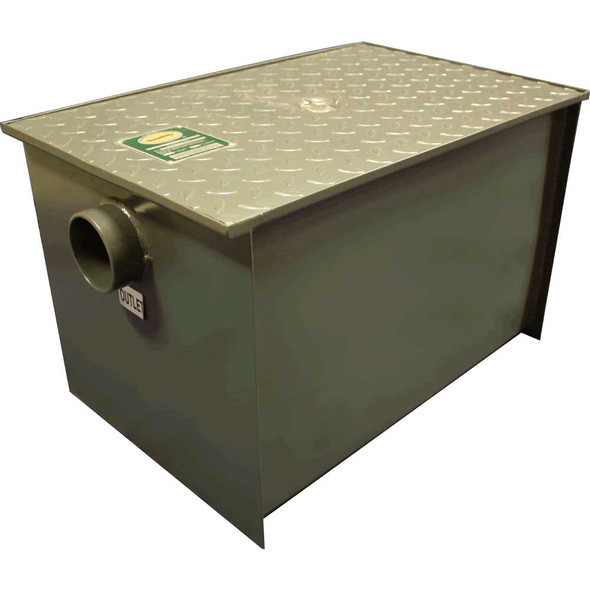 Atlantic Metalworks GI-50 - 50 lb 25 gpm Grease Trap Interceptor