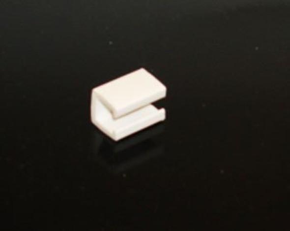 Diagonal view of True 202764 shelf clip
