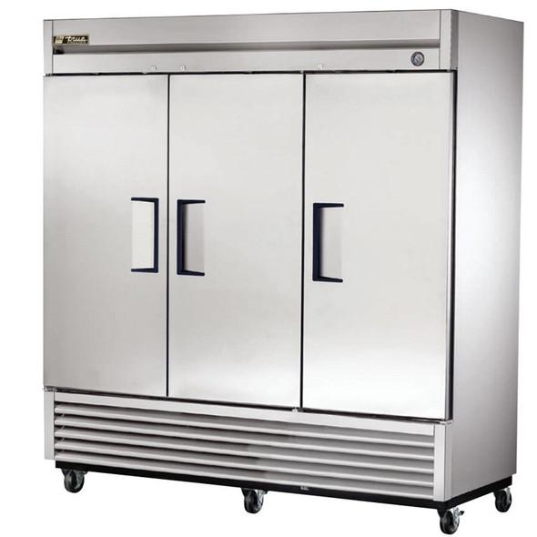 True T-series triple door refrigerator