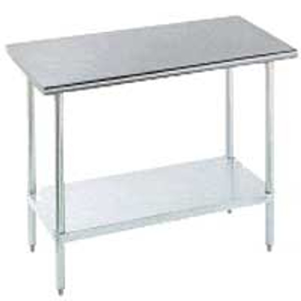 "Turbo Air TSW-3096SS - 96"" x 30"" All-Stainless Steel Work Table"