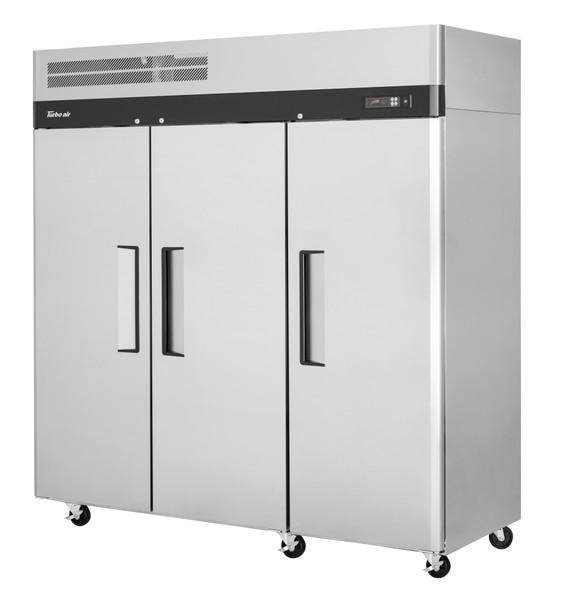 Turbo Air M3R72-3-N - 65.8 Cu. Ft. M3 Series 3-Door Refrigerator