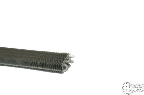 Image of the end on the True 913364 evaporator coil assembly