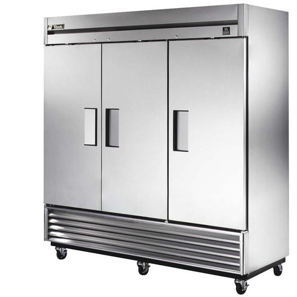 TS-72F True 72 Cu. Ft. Stainless Steel 3 Door Freezer