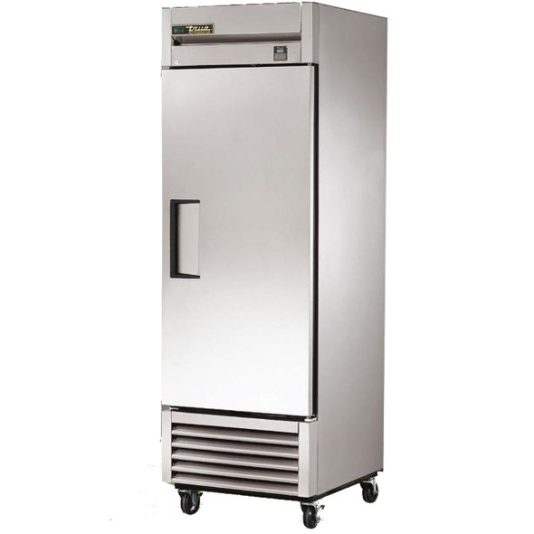 True TS-23F-HC 23 Cu.Ft. Stainless Steel 1 Door Freezer with Hydrocarbon Refrigerant