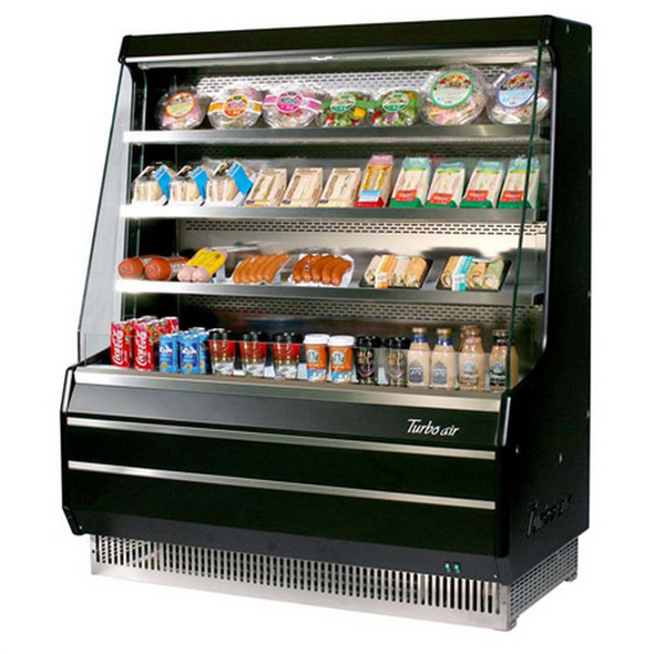 Turbo Air TOM-40M Open Display Merchandiser - Front