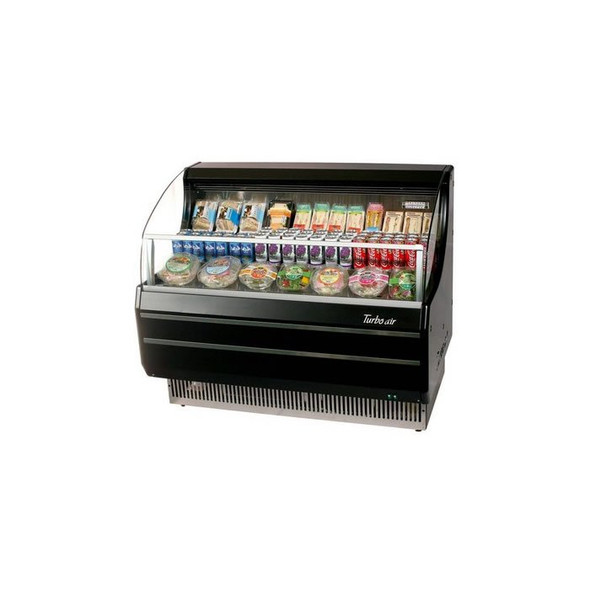"50"" Open Display Merchandiser - Turbo Air TOM-50SB"