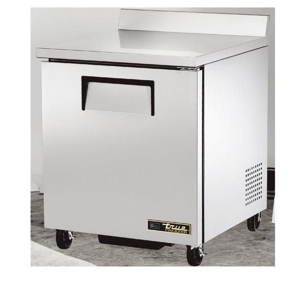 True TWT-27F-HC Worktop Solid Door Freezer with Hydrocarbon Refridgerant