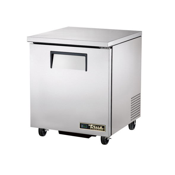 True TUC-27F-HC 27 Inch Solid Door Undercounter Freezer with Hydrocarbon Refrigerant