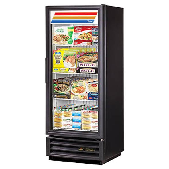 True GDM-12F-LD Glass Swing Door Merchandising Freezer