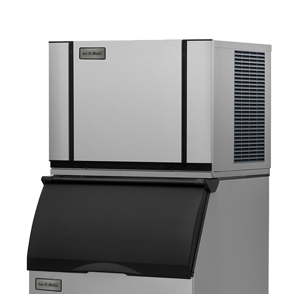 Ice-O-Matic Elevation Series CIM0636FW 600 lbs./day Modular Cube Ice Maker - Water Cooled with bin