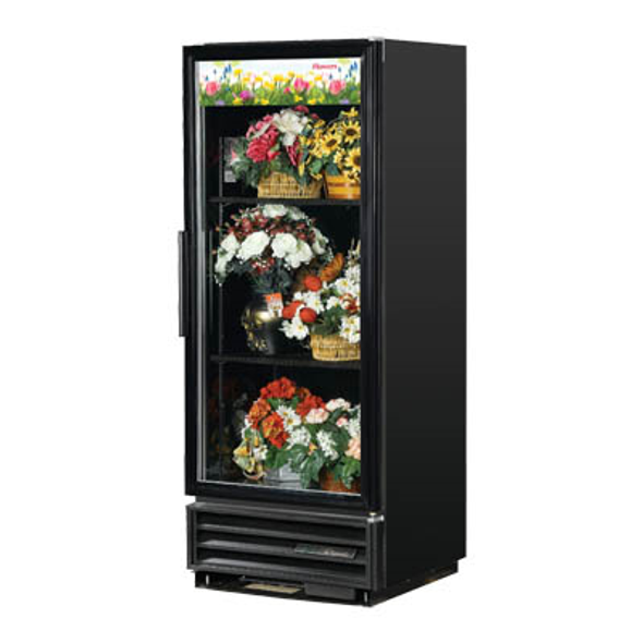 True GDM-12FC-HC-LD Glass Swing Door Floral Case