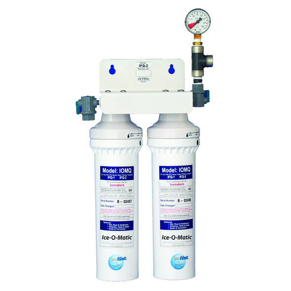 IFQ2 Ice-O-Matic Dual Filter Water Filteration System