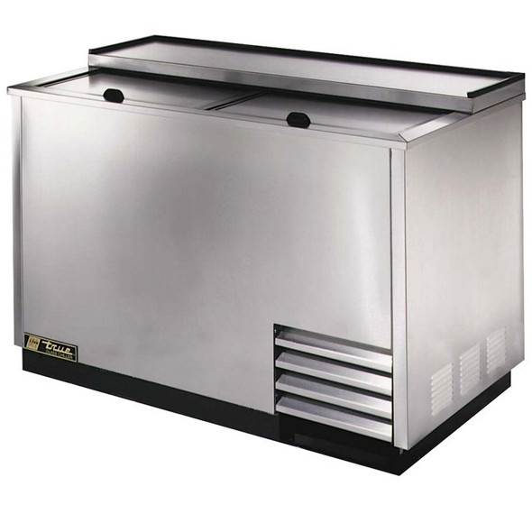 "T-50-GC-S True 50"" Stainless Steel Glass & Plate Chiller/Froster"