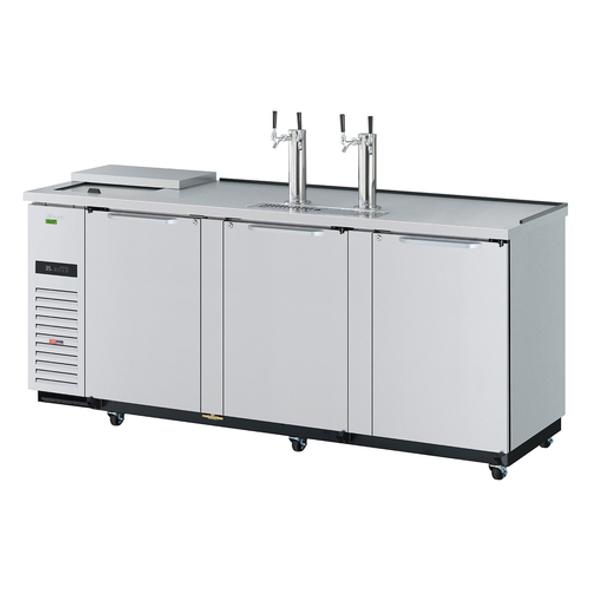 TCB-4SDD-N Turbo Air - 4 Keg Beer Dispenser
