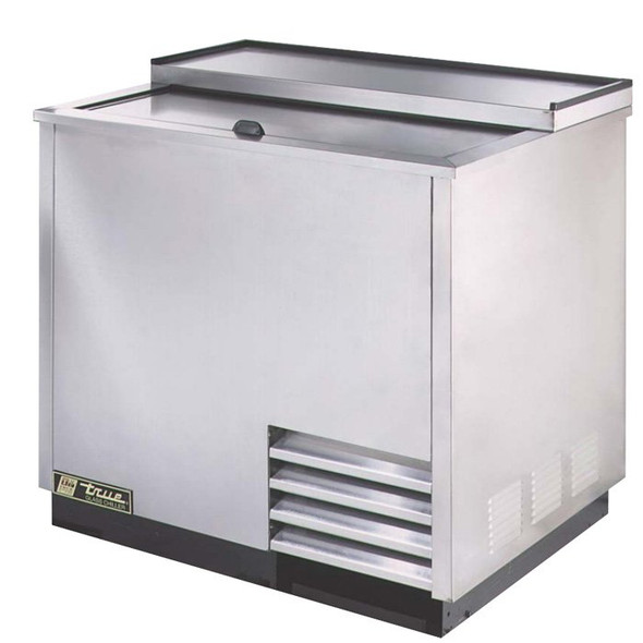 "T-36-GC-S True 36"" Stainless Glass & Plate Chiller/Froster"