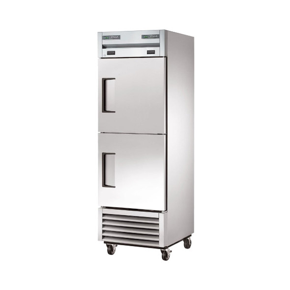 True's T-23DT-HC Dual-Temp Refrigerator/Freezer from the front