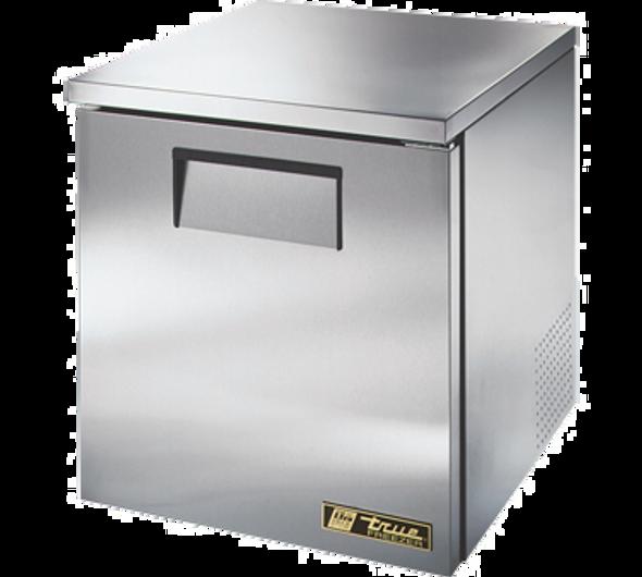 True TUC-27F-LP-HC Low Profile Solid Door Freezer with Hydrocarbon Refrigerant