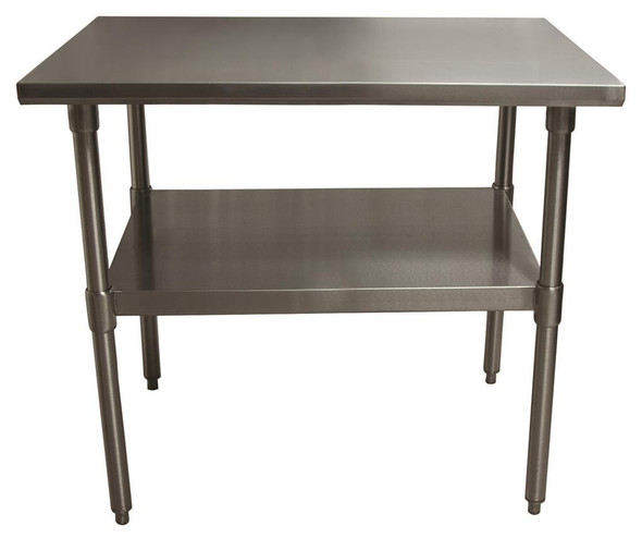 "BK-Resources - VTT-4830 Stainless Steel 48"" x 30"" Worktable"