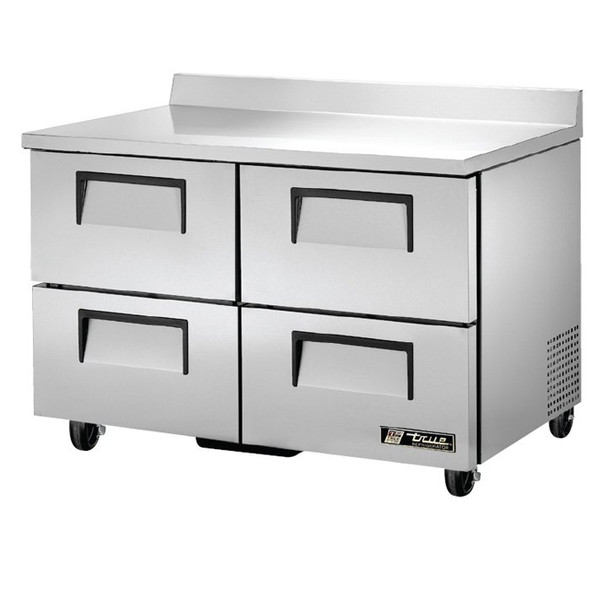 "TWT-48D-4 True 48"" 4 Drawer Worktop Refrigerator"