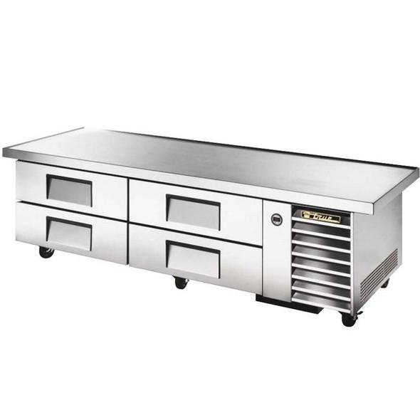 "TRCB-79-86 True 86"" 4 Drawer Chef Base"