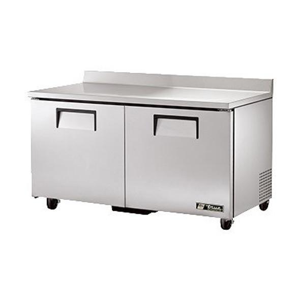 """TWT-60 True 60"""" 2 Door Worktop Refrigerator"""