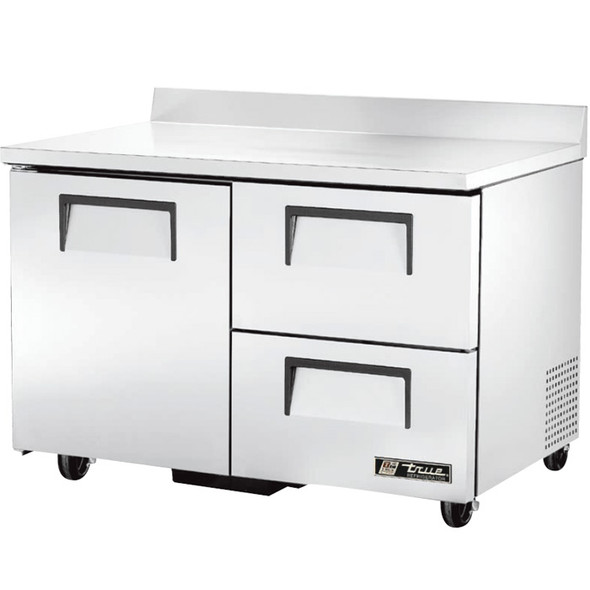 """TWT-48D-2 True 48"""" 2 Drawer/1 Door Worktop Refrigerator"""
