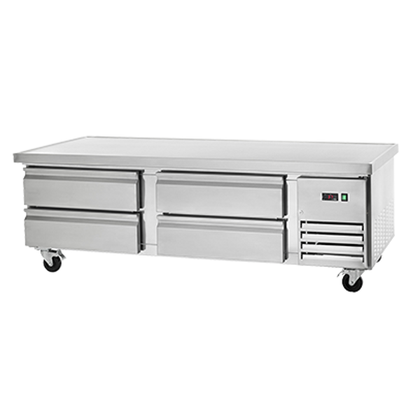 Arctic Air ARCB72 - 74 in. Refrigerated Chef Base