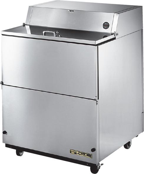 "TMC-34-S-SS True 34"" 13.8 Cu. Ft. Milk Cooler (SS Exterior/SS Interior)"