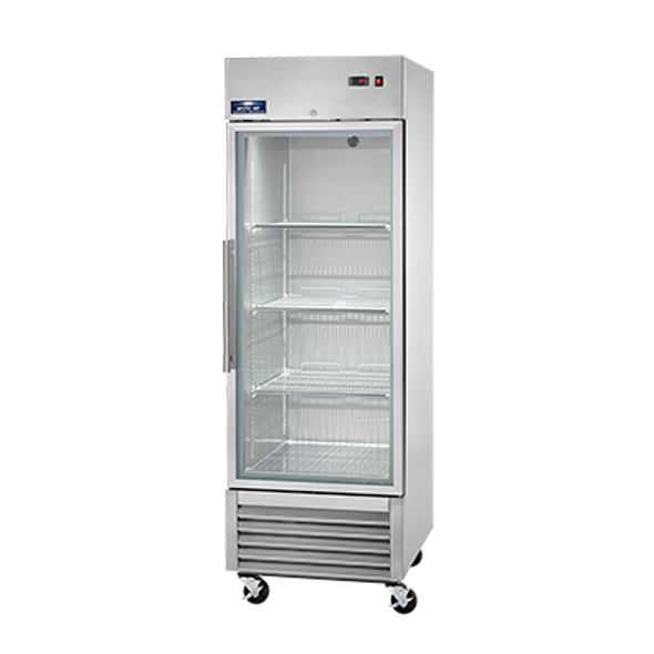 Arctic Air AGR23 - Single Glass Door Reach-in Refrigerator - 23 cu. ft.