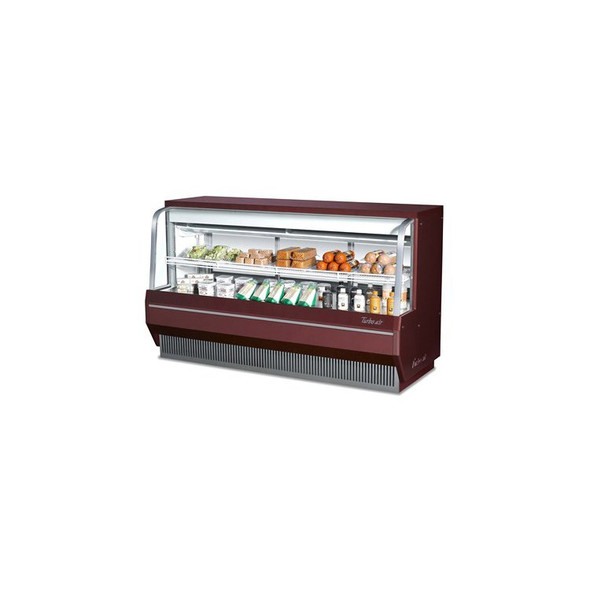 "36"" Curved Glass Deli Case - Turbo Air  TCDD-36-2-L"