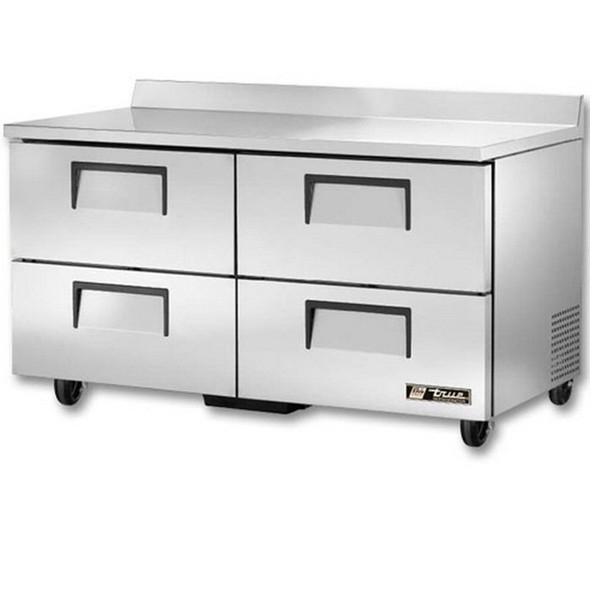 "TWT-60D-4 True 60"" 4 Drawer Worktop Refrigerator"