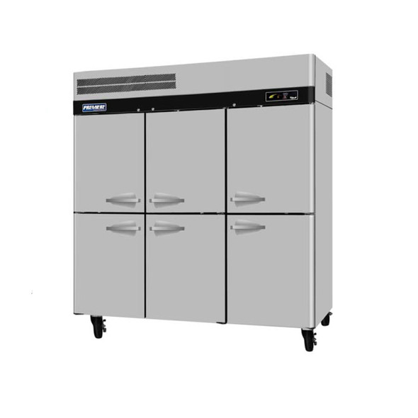 Turbo Air PRO-77-6F 6 Door Freezer