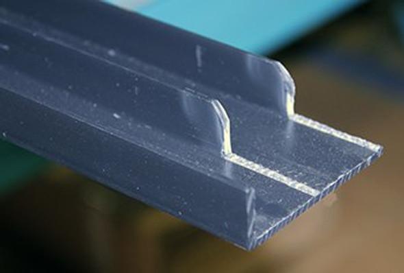 Image of the True 906700 bottom door track channel