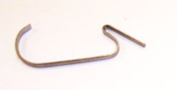 Side view of evaporator coil heater clip