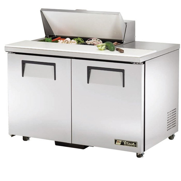 "TSSU-48-8-ADA True 48"" 8 Bin Sandwich/Salad Prep Table"