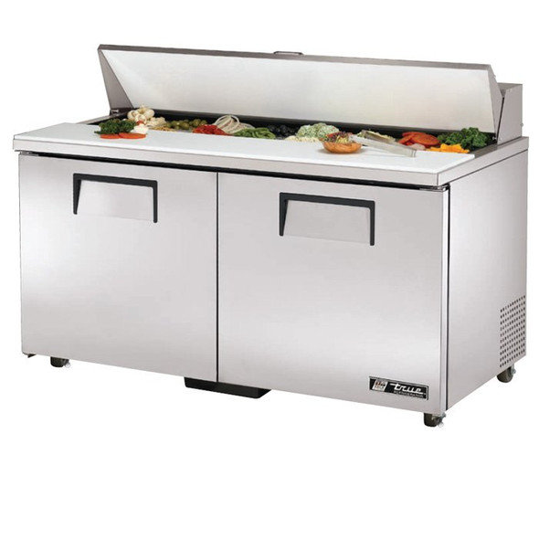 "TSSU-60-16-ADA True 60"" 16 Bin Sandwich/Salad Prep Table"